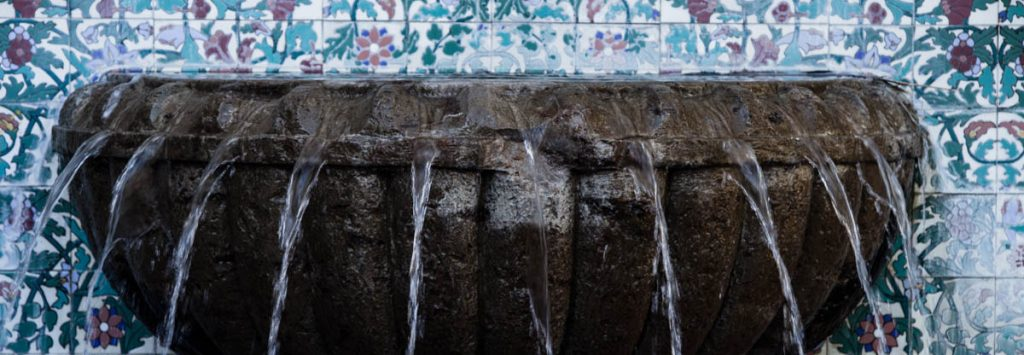 Palm Springs Fountain, Forgiving, A Daily Affirmation, www.adailyaffirmation.com